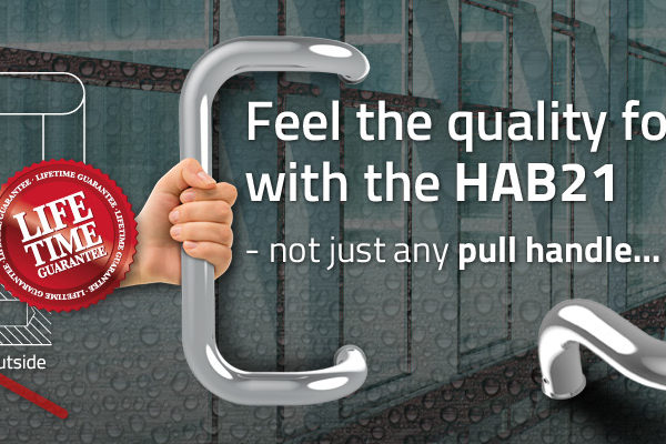 HAB21 - Quality commercial Pull Handle