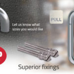 The blu HAB21 commercial pull handle