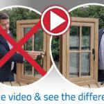Flush casement window handles - By blu